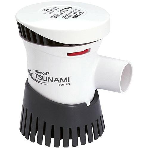 Tsunami 1200 GPH Cartridge Bilge Pump, 12VDC by Attwood Marine