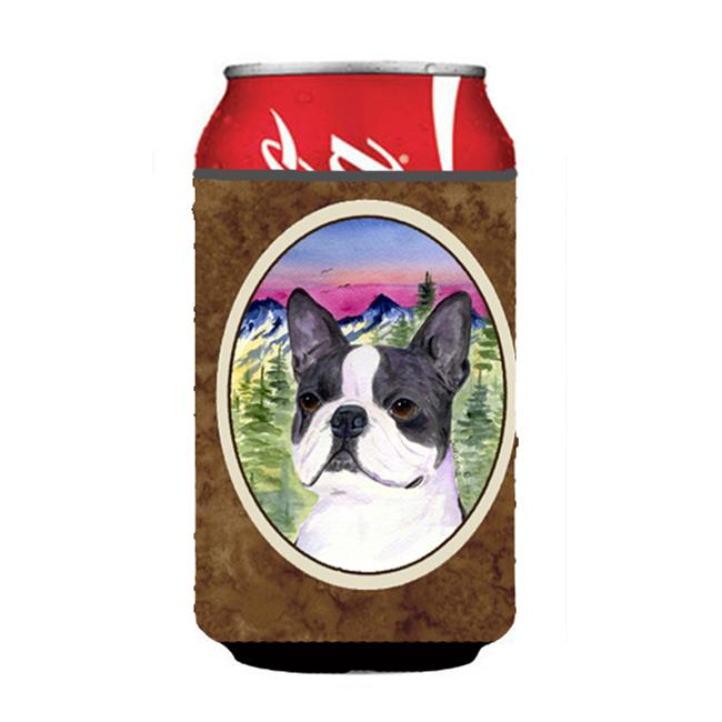 Boston Terrier Can Or bottle sleeve Hugger - 12 oz. - image 1 of 1