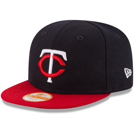 Minnesota Twins New Era Infant My First 9FIFTY Adjustable Hat - Navy/Red - OSFA (Minnesota Twins Cap)