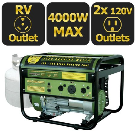 Sportsmans Series 4000-Watt LP Generator