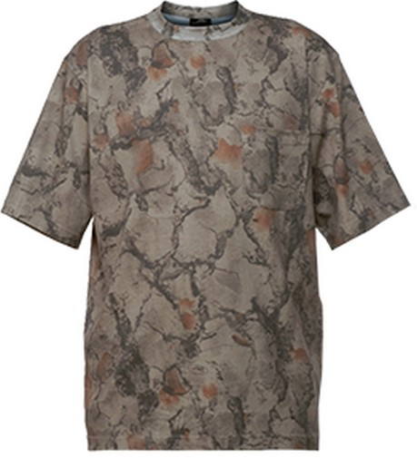 Natural Gear Short Sleeve Tshirt Natural Camo 2Xlarge