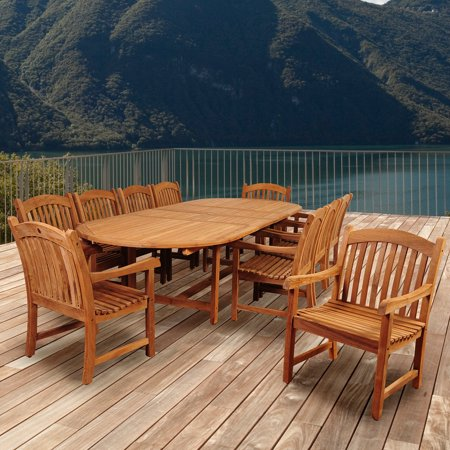 Bromo Double Extendable Dining Set