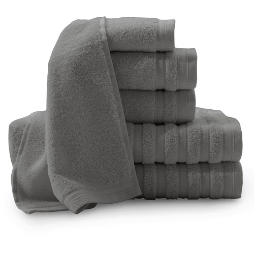 Baltic Linen Pure Elegance Turkish Cotton 6-Piece Luxury Towel Set