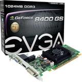 EVGA GeForce 8400GS 1GB SDDR3 01G-P3-1302-LR Graphic Card - Geforce 8400gs Graphics Card