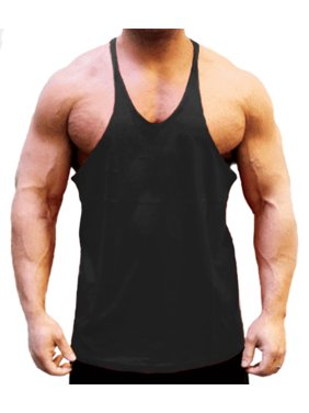 dacf7362a2614 Product Image A Men s Stringer String Tank Black Large. BODYSMART