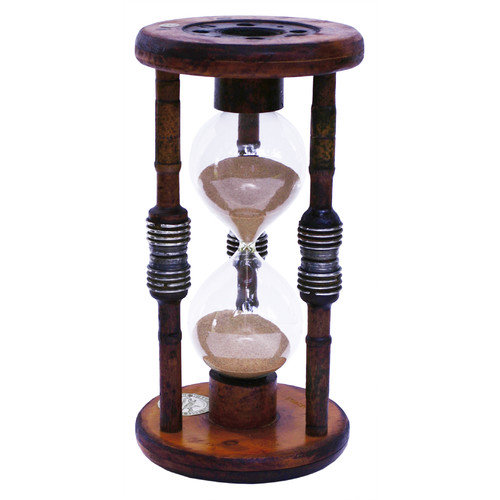 River City Clocks 60 Minute Sand Timer Hourglass