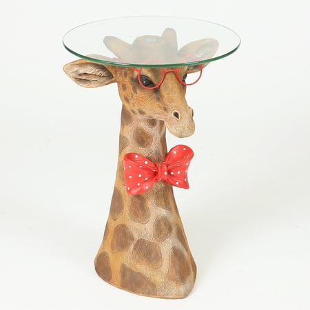 (Fashionable Giraffe Accent Table)