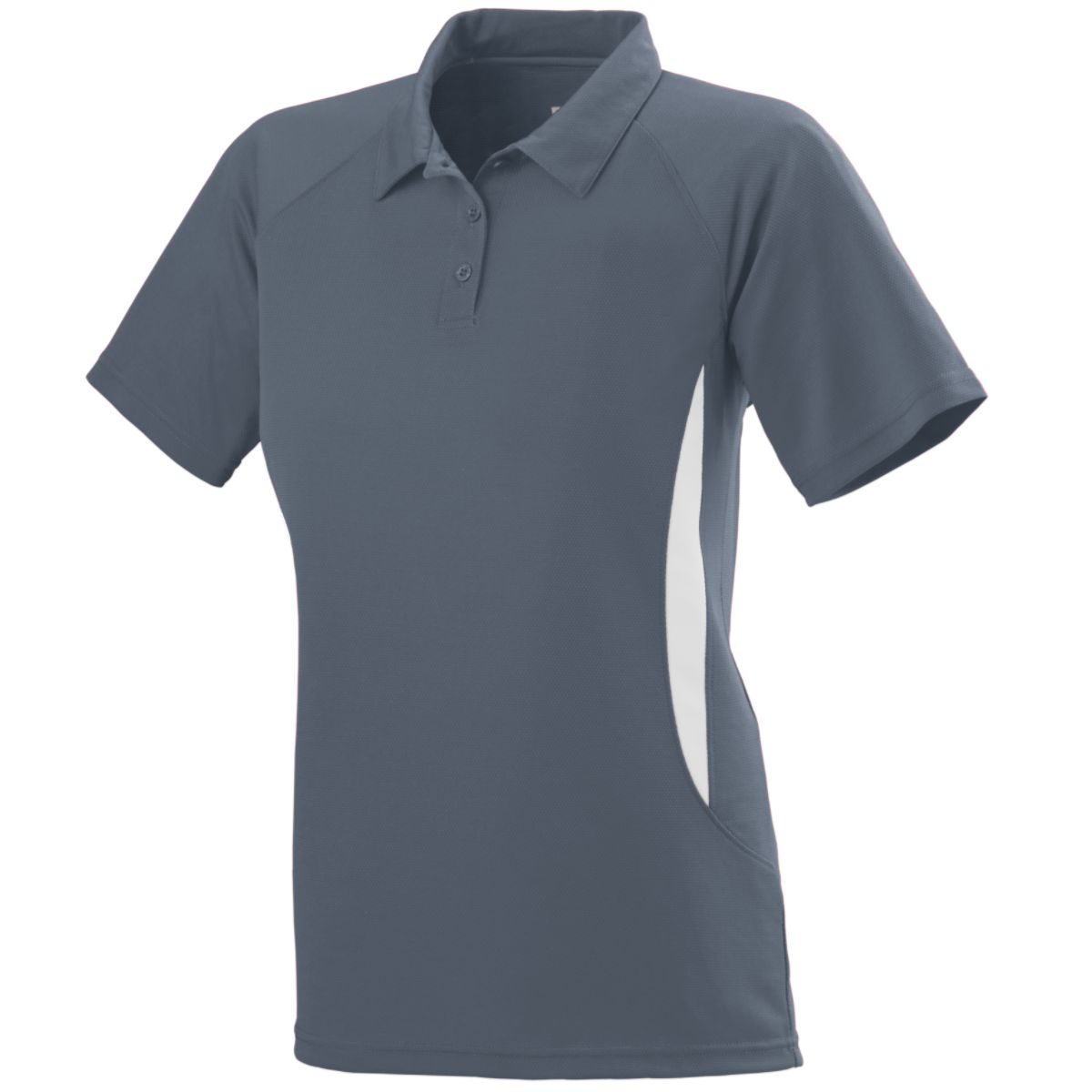 Augusta Ladies Mission Sport Shirt Grap/Whi L - image 1 of 1