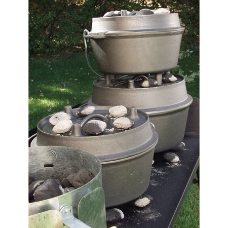 Camp Chef 3 Sided Heavy Duty Steel Dutch Oven Table Best