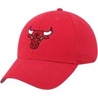 Men's Red Chicago Bulls Mass Basic Adjustable Hat - OSFA