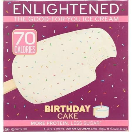 Enlightened Birthday Cake Low Fat Ice Cream Bars 4