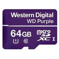 WD PURPLE MICRO SD 64G