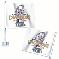 Chicago Cubs WinCraft 2016 World Series Champions On Field Locker Room Celebration Car Flag - No Size