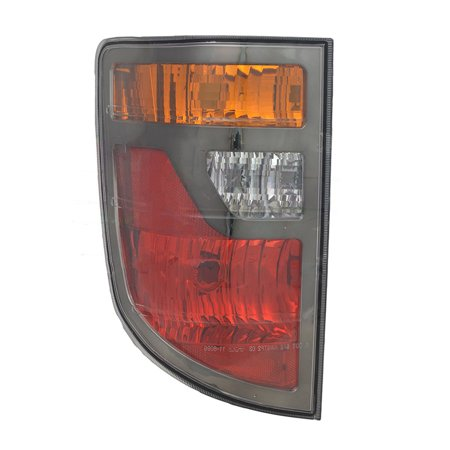 NEW LEFT TAIL LIGHT FITS HONDA RIDGELINE 2006-2008 33551-SJC-A01 HO2818131