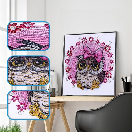 DIY 5D Diamond Painting Kits DIY Drill Diamond Painting Needlework Crystal Painting Rhinestone Paintings Arts Craft for Home Wall Decor Gift 30*30cm - image 3 of 7