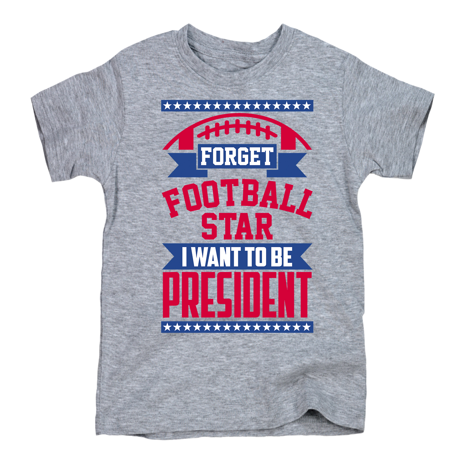 Forget Football Star-YOUTH SHORT SLEEVE TEE