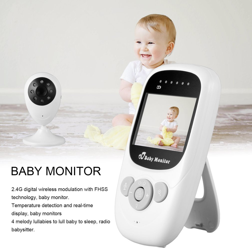 Baby Monitor Upcupc2.4 Inch Color Lcd With Imported Cmos Camera, Baby Monitor.