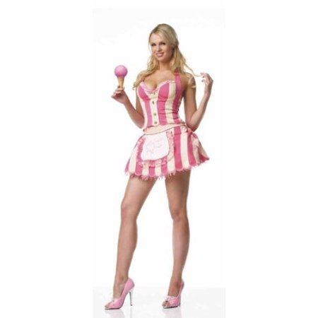 leg avenue womens ice cream parlor halloween costume
