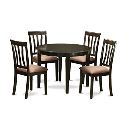 Boan5 cap c 5 pc small kitchen table set kitchen table and for Small kitchen table with 4 chairs