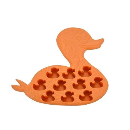 Fairly Odd Novelties Duck Ice Cube - Orange Ice Cubes