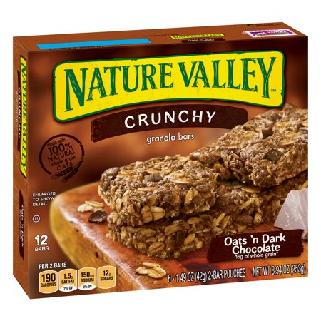 Nature Valley Crunchy Oats Amp Dark Choc 12 Ct Granola