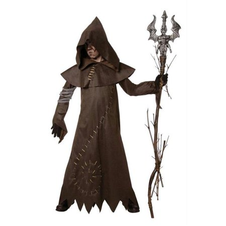Costumes For All Occasions Lf3514Cmd Evil Warlock Child Medium - Warlock Costume