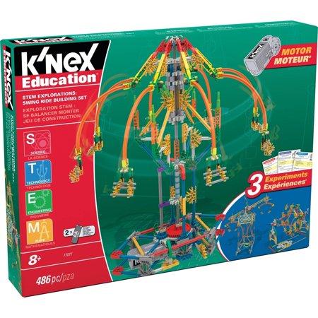 Knex Education Stem Explorations  Swing Ride Building Set