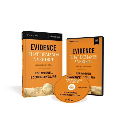 Evidence That Demands a Verdict Study Guide with DVD : Jesus and the