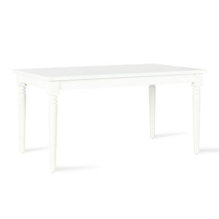 Novogratz Varick Rectangular Dining Table, White