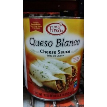6 PACKS : Muy Fresco Queso Blanco Cheese Sauce 106 Oz (Halloween Queso Dip)