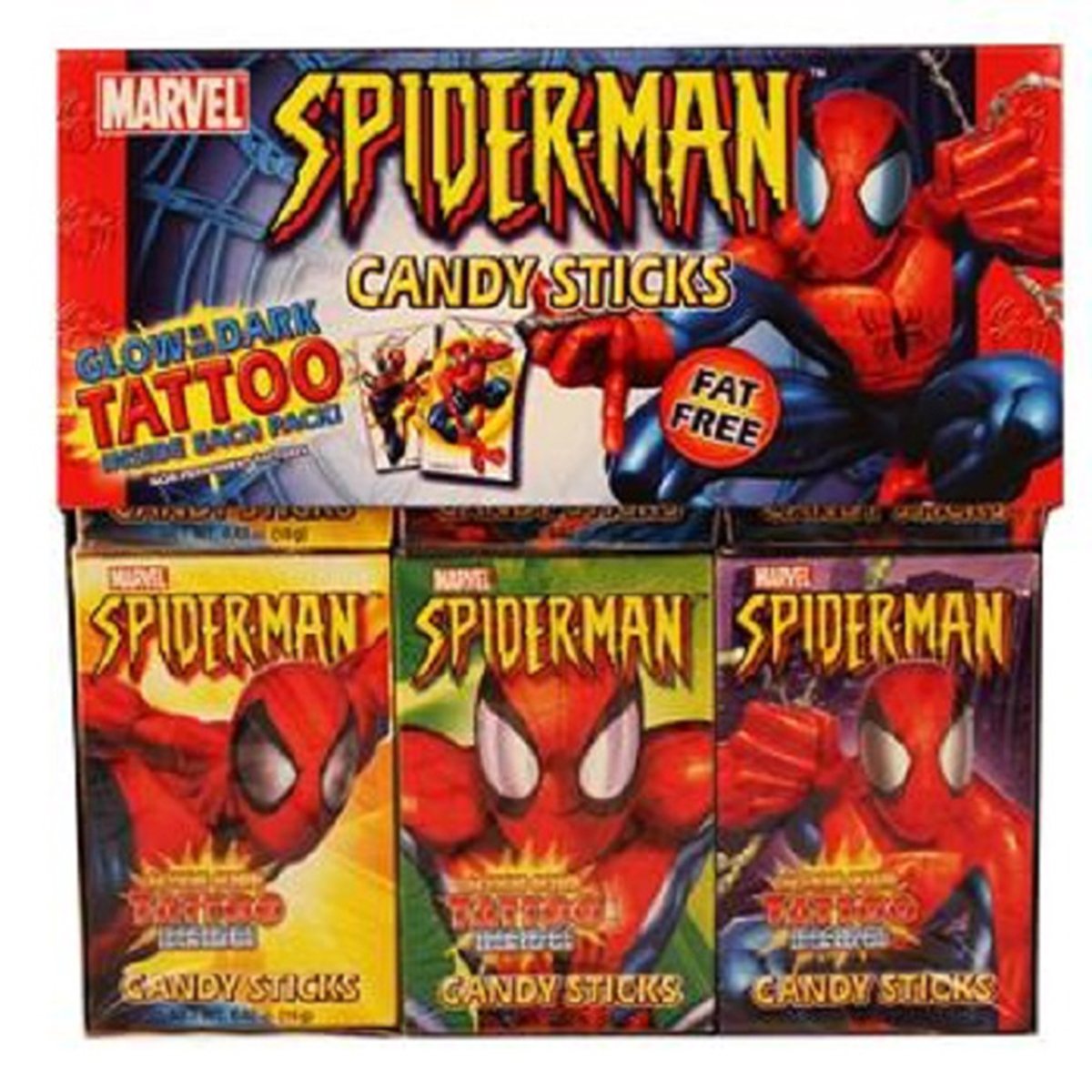Product Of Marvel, Ultimate Spiderman Candy Stick, Count 30 - Sugar Candy / Grab Varieties & Flavors