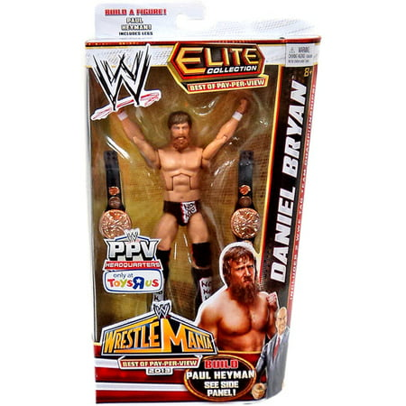 WWE Wrestling Elite Best of Pay Per View Daniel Bryan Exclusive Action