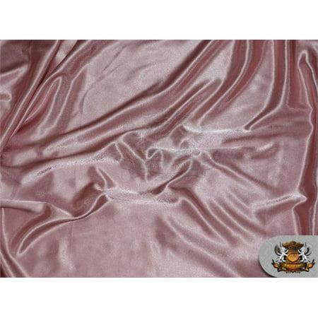 (Satin Crepe Solid Fabric MAUVE / 60