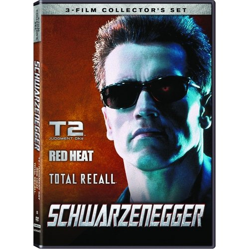 The Schwarzenegger Collection - Red Heat / Terminator 2: Judgement Day / Total Recall (With INSTAWATCH)