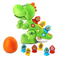 VTech Mix and Match-a-Saurus, Dinosaur Learning Toy for Kids, Green