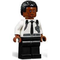 LEGO Captain Marvel Nick Fury (Young) Minifigure [No Packaging]