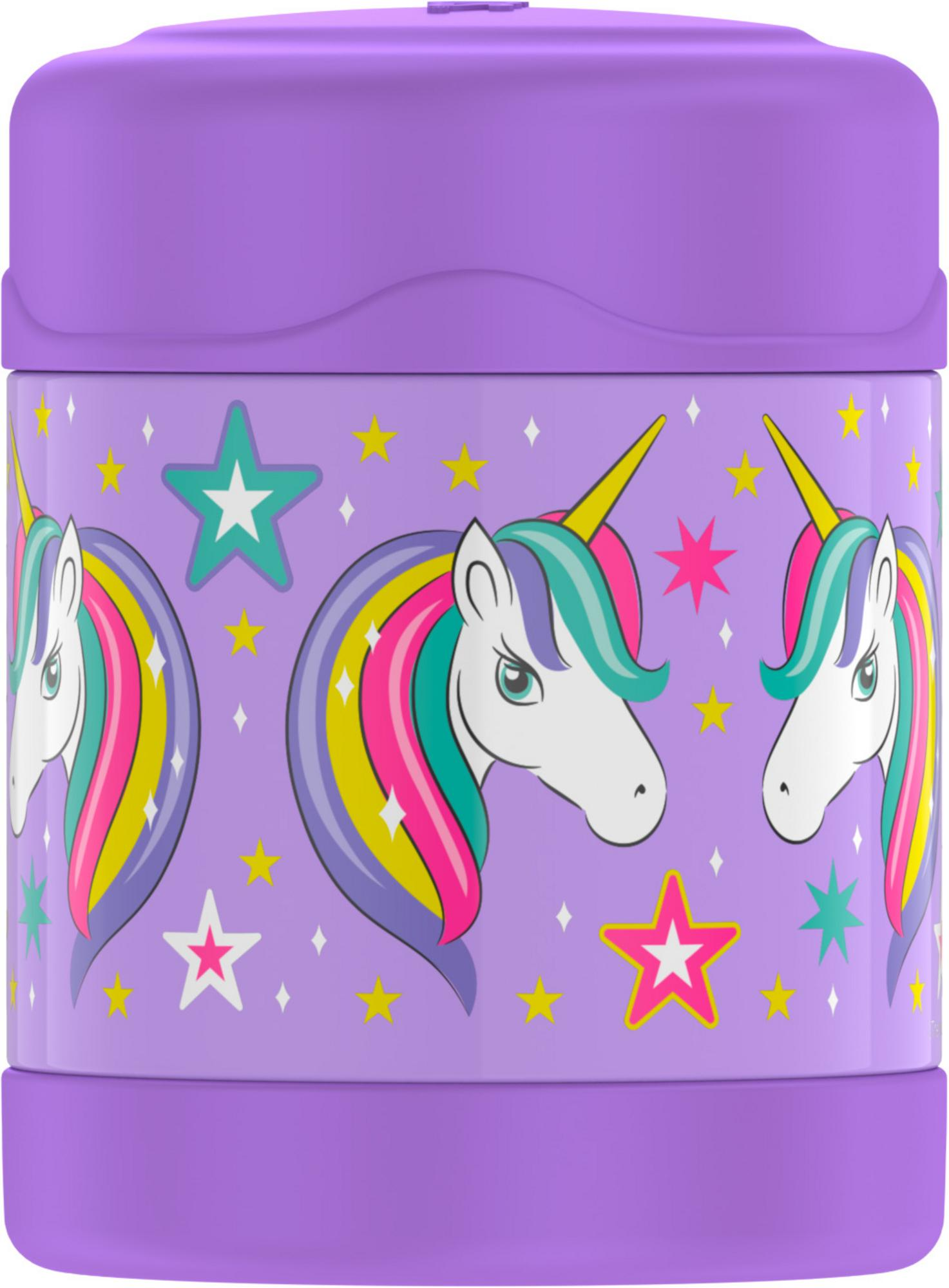 Thermos FUNTainer 12 Oz Vacuum Insulated Food Jar - Sparkle Unicorn