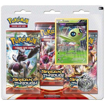 Pokemon X & Y Break Through 3-Pack Special Edition