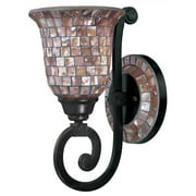 Pearl River Wall Sconce in Oil Rubbed Bronze Finish