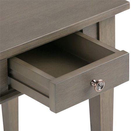Atlin Designs Square End Table in Farmhouse Gray - image 1 of 6