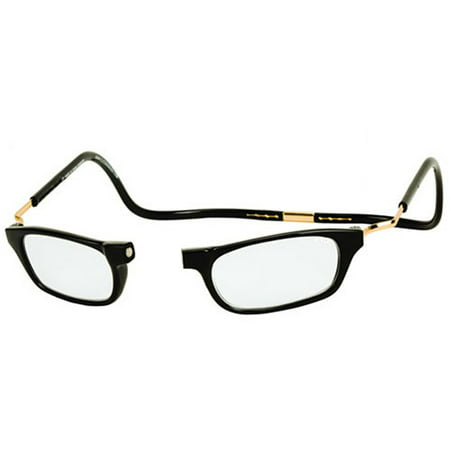 CliC Expandable Reading Glasses, Black ShopFest Money Saver