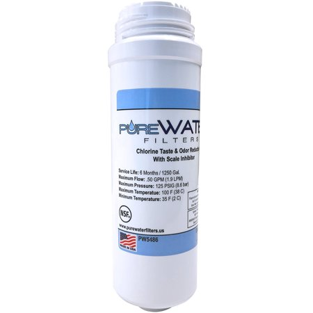 PureWater Filters KQ8 KQ8A Replacement Filter Cartridge for Keurig B150, K150, B150P, K150P, B155, K155, B200, B3000, K3000, B3000SE, K3000SE ()