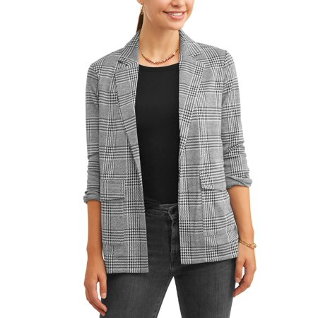 Women's Printed Knit Blazer