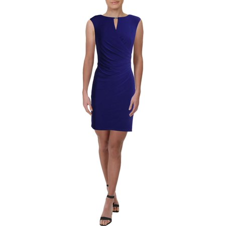 Jersey Petite Wrap Dress (Lauren Ralph Lauren Womens Petites Jersey Business Wrap Dress)