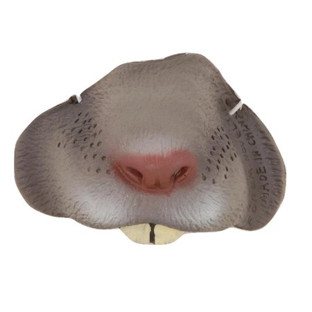 Rat Grey Mouse Small Nose Animal Gray Mini Mask Adult Child Costume Accessory
