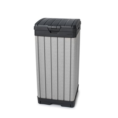 Walmart Outdoor Trash Cans Awesome Keter Baltimore Outdoor Trash Can Walmart