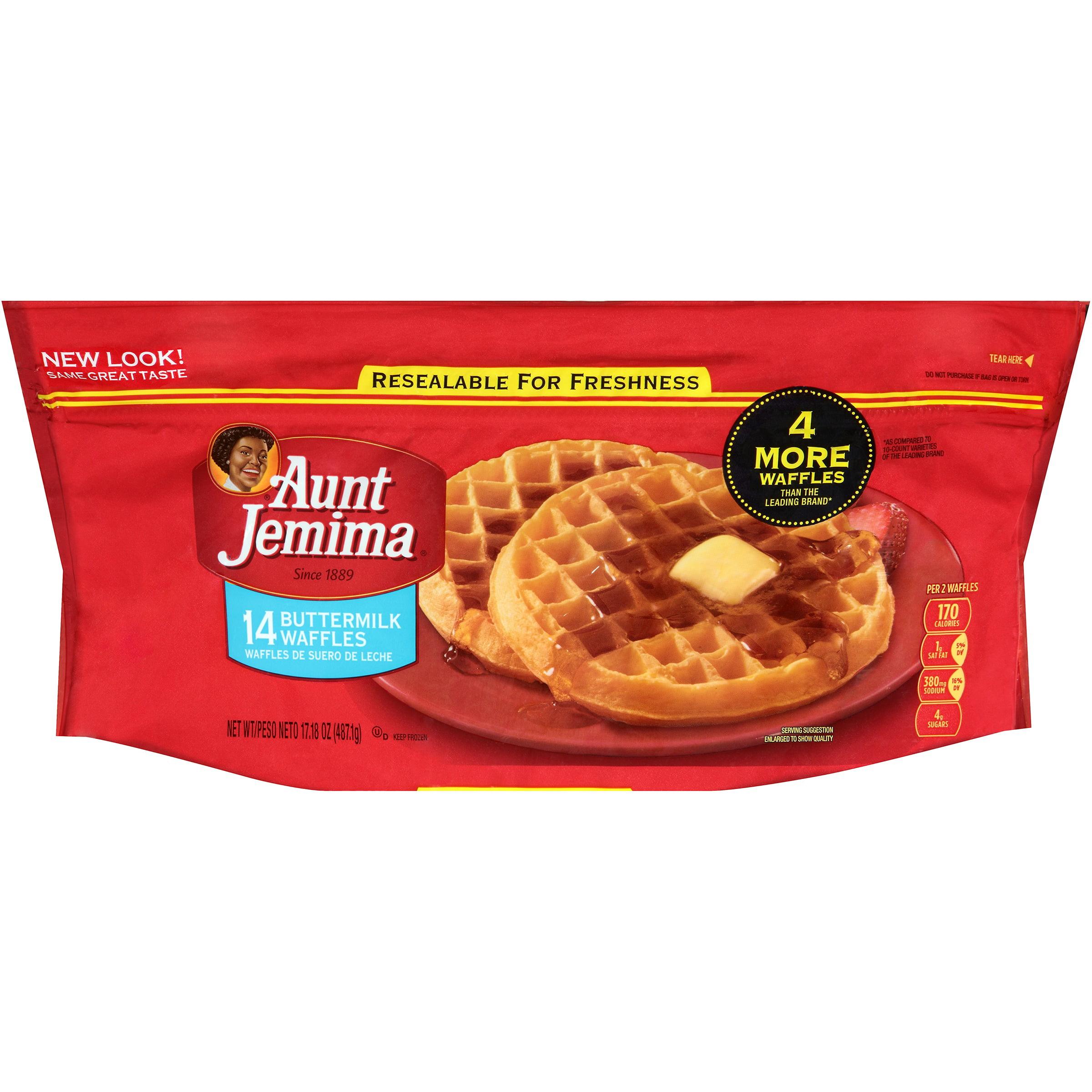 Aunt Jemima® Buttermilk Waffles 14 ct Bag