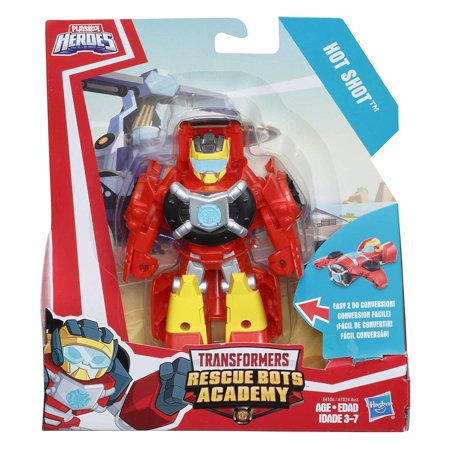 Playskool Heroes Transformers Rescue Bots Academy - Hot Shot (Rescue Bots Party Supplies)