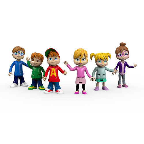 Alvin & the Chipmunks We're the Chipmunks Collectible Figures