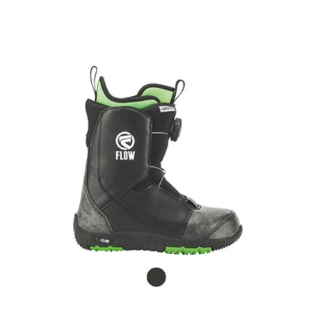 Ltd Snowboard Boots - Flow Youth Micron Boa Snowboard Boots 2018